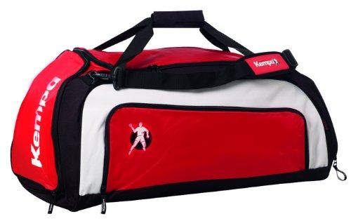 Kempa - Handballtaschen in rot/schwarz/off-white, Größe M