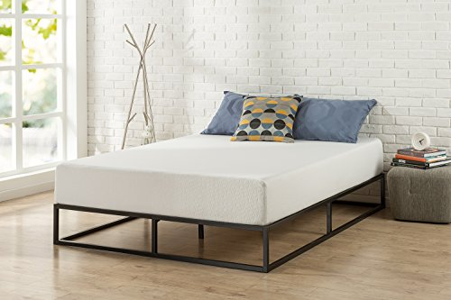 Zinus Joseph Modern Studio 10 Inch Platforma Low Profile Bed Frame / Mattress Foundation / Boxspring Optional / Wood slat support, Queen