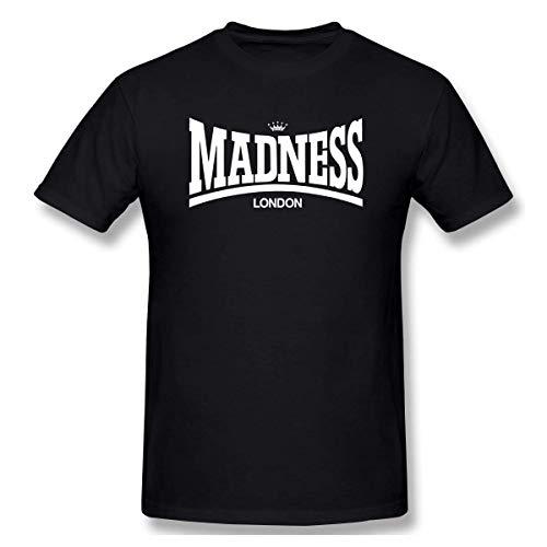 Revolver Tees Madness Unisex T-Shirt Colours,Black 07,4X-Large