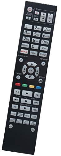ALLIMITY N2QAYA000128 Fernbedienung Ersatz für PANASONIC 3D BLU-RAY DVD DMPUB900 DMP-UB900GN DMP-UB900GNK DMPUB900GNK DMPBDT700 DMP-UB900 DMPUB900GN DMP-BDT700
