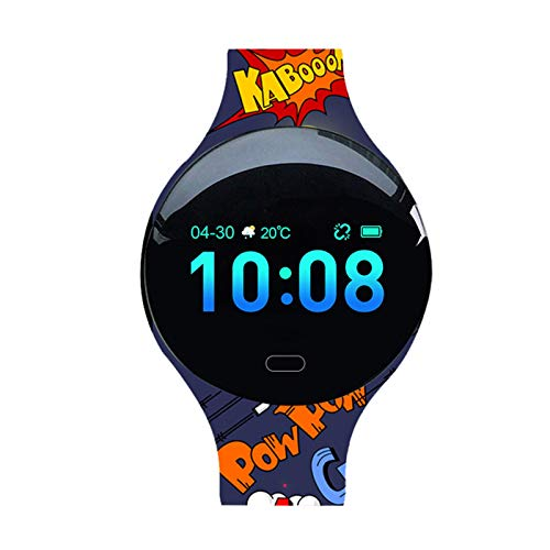 Reloj Inteligente para Mujeres y Hombres,Pantalla TáCtil de 0.96 ',Rastreador de Ejercicios con MonitorizacióN del SueñO,Rastreador de Actividad con Impermeable Ip67 para Android iOS Color brillante