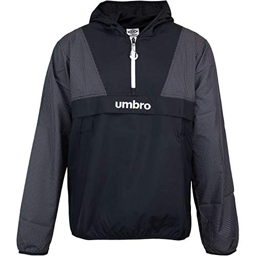 Umbro Promo Windbreaker Jacke (M, Black/White)