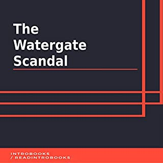 The Watergate Scandal audiobook cover art