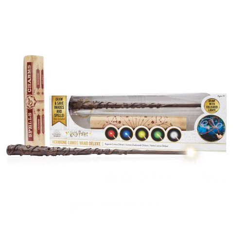 """WOW! PODS Stuff Collection Hermione Granger 14"""""""" Deluxe Lumos Light-Painting Wand, Multi"""