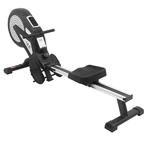 ISE Neusten Rudergerät für zu Hause klappbar,Rudermaschine mit Tranningscomputer,Nutzergewicht bis 150kg-Testsieger SY-1749