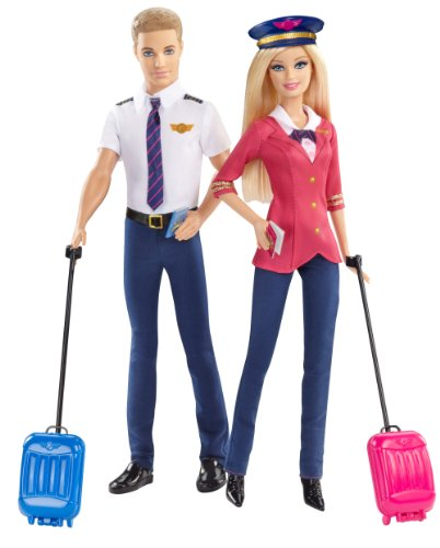 Barbie Special Edition - Barbie und Ken als Pilot CCY12