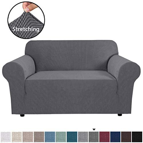 Best Stretch Couch Cover Loveseat Covers for 2 Cushion Couch Loveseat Slipcover|Sofa Cover for Loveseat 1