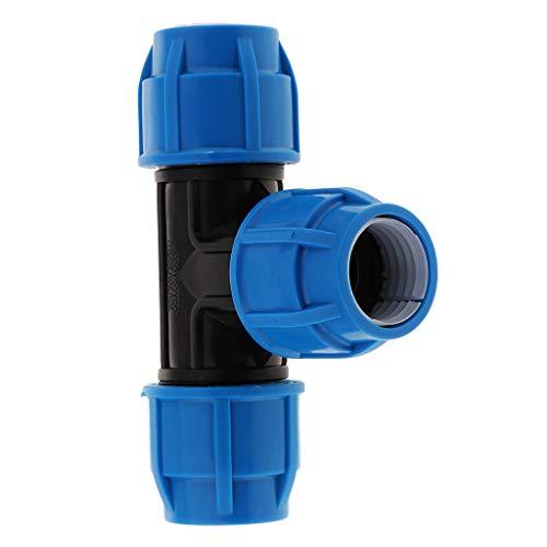 riego y obras. Pack 4 x ENLACE MACHO POLIETILENO 32MM x 1 Producto con certificado AENOR utilizado en tuber/ías PE 32 mm para uso fontaner/ía