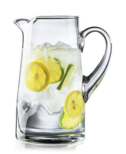 Crisa Impressions by Libbey 80 Ounce Clear Glass Pitcher (2, 80 Ounces)