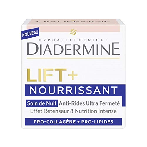 DIADERMINE Lift + Nourrissant Soin de Nuit Anti-Rides Ultra Fermeté 50ml (lot de 2)