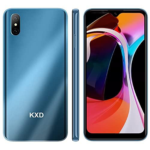Smartphone Offerta del Giorno, KXD D58 6.22   Waterdrop Schermo 4000mAh Batteria Cellulari Offerte, 2GB 32G 128GB Espandibili Cellulare, 13MP+5MP, Dual SIM Economici Android Telefoni Mobile, Blu