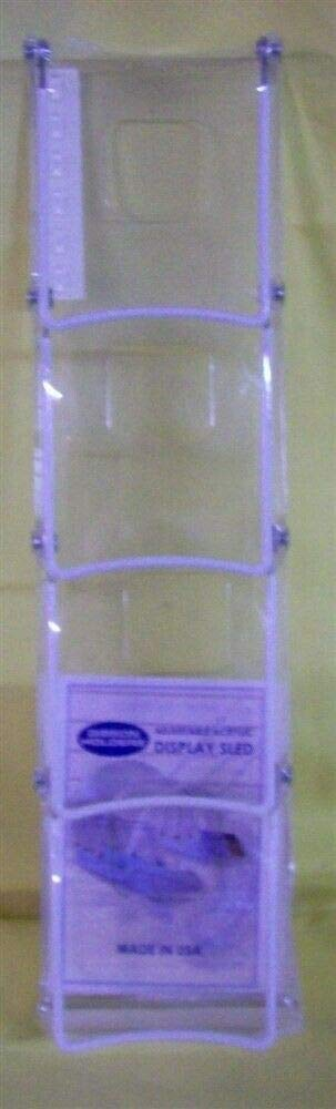 Store Fixture Supplies Max 46% OFF Sled Display Long Easel 4 Purchase Tier 14.5
