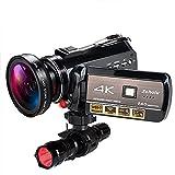 4K Wifi Full Spectrum Camcorders, Ultra HD...