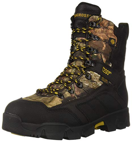 "Lacrosse Men's 566710 Cold Snap 9"" Waterproof 1200G Hunting Boot, Mossy Oak Break-Up Country - 9 M"