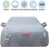 Mmmp Cubierta del coche compatible con Mercedes Benz GLB180 / 200/220/250 / protección contra los ataques de granizo AMG35 Oxford tela impermeable coche aislamiento protector solar pintar protección c
