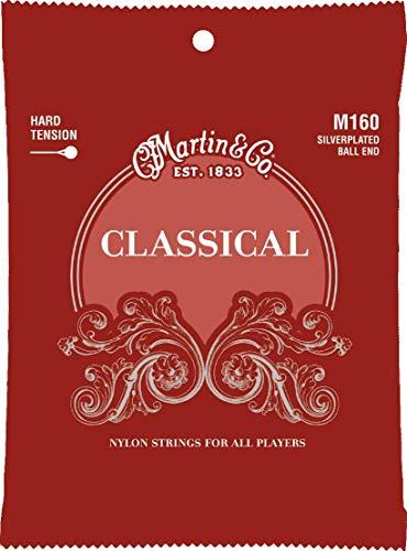 Martin Gitarrensaiten für Klassikgitarren (versilberte Umwicklung) Ball End
