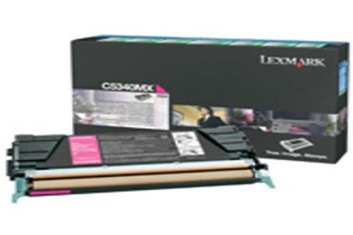 C5340MX Lexmark C534 Cartucho de Tóner Magenta