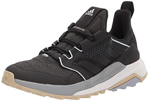 adidas Women's Terrex Trailmaker Hiking Walking Shoe, Core Black/Core Black/Halo Silver, 7.5