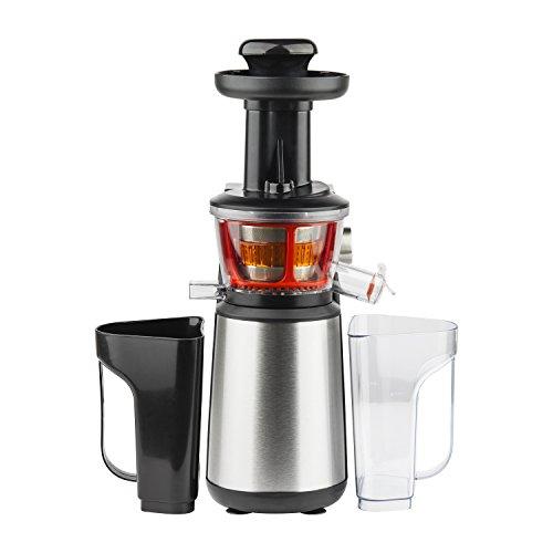 H.Koenig GSX12 Vertical Slow Juicer, Gentle Pressure Technology,...