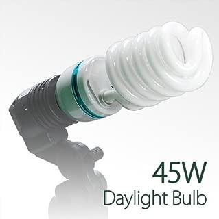LimoStudio 45 Watt, 6500K Fluorescent Daylight Balanced Light Bulb for Photography and Video Lighting, AGG876