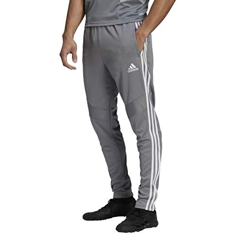 adidas Men's Standard Tiro 19 Pants, Grey/White, X-Small