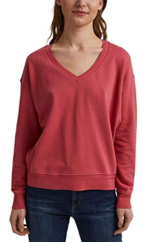 edc by ESPRIT Damen 031CC1J303 Sweatshirt, 665/BLUSH, M