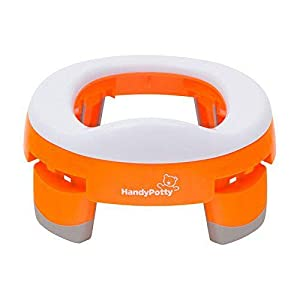 Nikidom Handy Potty - Orinal de viaje y reductor WC