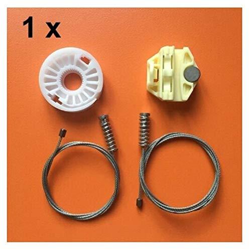 BYOLPMKK Regulador de la Ventana Kit de reparación for Saab 9-3 Ys3d 98-03/900 II 2 Trasera Derecha e Izquierda