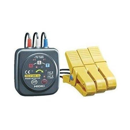 sin bater/ía Pr/áctica electr/ónica AKDSteel SM852B comprobador de rotaci/ón de Secuencia de 3 Fases LED indicador Detector de medidor