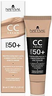 Cc Cream Fps 50+ - Natysal - 30 ml.
