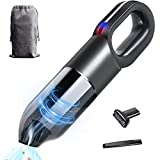Hotec Cordless Handheld Car Vacuum Cleaner with High Power Rechargeable Battery, for Home, Office and Car Interior Cleaning (XQC-02)