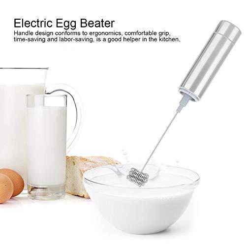 Elektrischer Eierschläger, Haushalts-Mini-elektrischer handgehaltener Eierschläger Automatische Milchaufschäumer-Mixer-Küchenutensilien