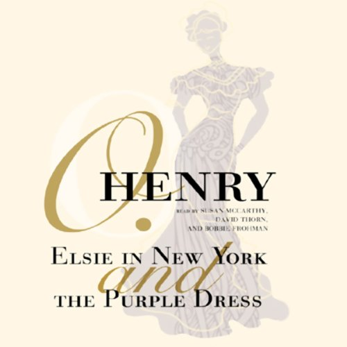 Elsie in New York and The Purple Dress copertina
