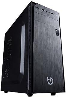 Hiditec Caja ATX PC Gaming KLYP | Carcasa de Ordenador Compatible ATX y Micro ATX | Diseño Elegante | Gran refrigeración | Configuración de Alto Rendimiento