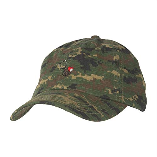 SOUTHERN CALIFORNIA UNIVERSITY OF HEALTH SCIENCES Dad Hat - Stethoscope (Camo)
