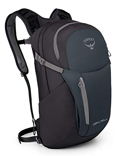 Osprey Daylite Plus Everyday and Commute Pack, Black/Blue, O/S