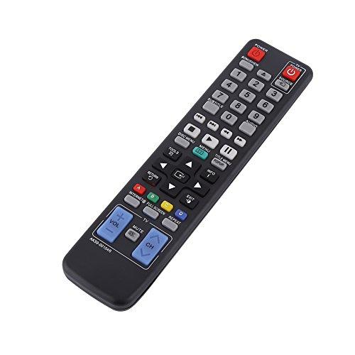 Weikeya Delicado televisor Remoto Controlador para Samsung televisor, AK59-00104r 2 X AAA Batidor Reemplazo Encajar Abdominales