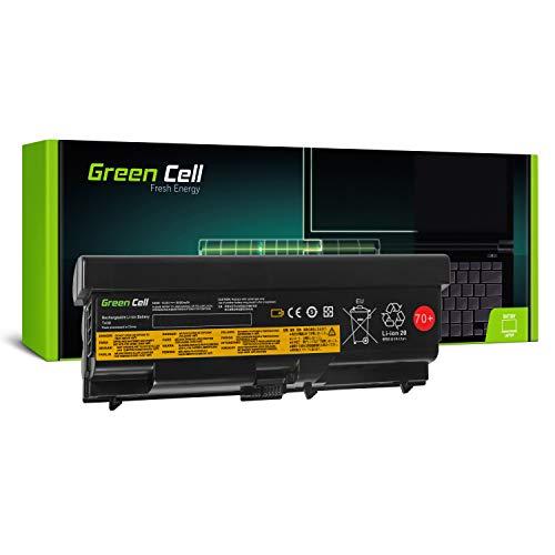 Green Cell Extended Serie 45N1001 Laptop Akku für Lenovo ThinkPad T430 T430i T530 T530i W530 L430 L530 (9 Zellen 6600mAh 10.8V Schwarz)