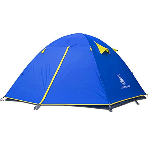 Fantastic Deal! Sviper Kids Play Tunnels Mountaineering Tents Double Laminated Plastic Pole Tent Wea...