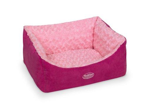 "Nobby Komfort Bett eckig ""ARUSHA"" pink L x B x H: 60 x 48 x 19 cm"