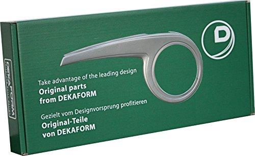 DEKAFORM Design Fahrrad-Kettenschutz Performance Line 230-2 bei Kettenschaltung bis 48 Zähne*weiß
