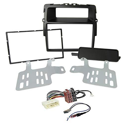 Sound Way - Kit Montaggio autoradio 2 DIN Adattatore Compatibile con Nissan Primastar/Opel Vivaro/Renault Trafic II - KA11-463