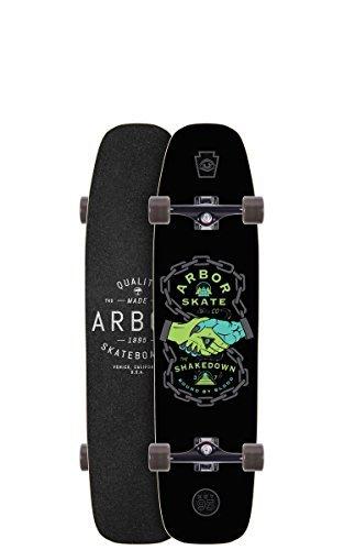 Arbor Shakedown Complete Skate Board, 37 by Arbor