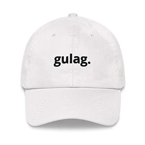 boné de beisebol da moda hip hop boné de beisebol gulag letra bordado papai chapéu homens e mulheres chapéus selvagens Esportes ajustáveis go