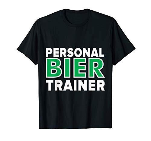 Personal Bier Trainer Party Bier Spruch für Mallorca T-Shirt