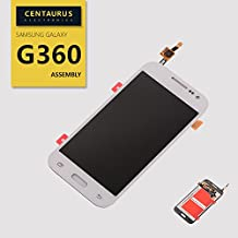 Replacement for Samsung Galaxy Core Prime G360 G360V G360T1 G360P G360M G360T LCD Replacement Display Touch Screen Digitizer White USA
