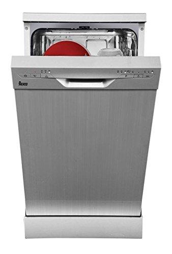 Teka LP8410unter Comptoir du 9places A + Spülmaschine–Geschirrspülmaschinen (unter Comptoir du, Edelstahl, Slimline (45cm), Edelstahl, Knöpfe, 9Sitzer)