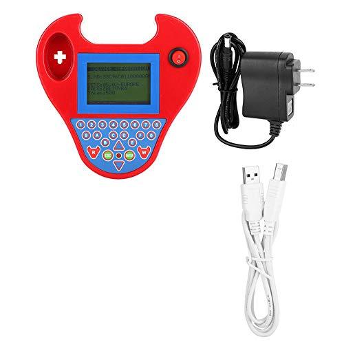 Programador de llave automática para automóvil, Zed-Bull Programador de llave automática para automóvil Transpondedor Match Mini herramienta inteligente Enchufe de EE. UU. 110-240V Enchufe de herramie