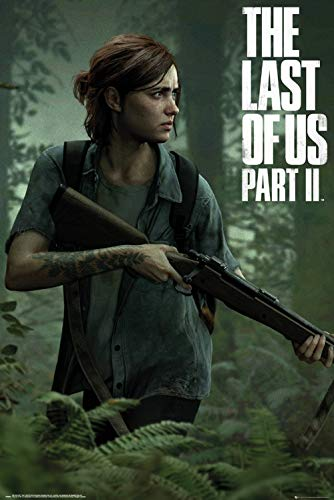 The Last Of Us: Part II - Gaming Poster (Game Cover - Ellie) (Size: 24 x 36 inches)