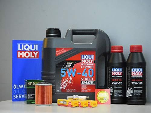 MotorFunSports Can Am Ryker 900 Ace - Juego de Mantenimiento de bujías y filtros de Aceite